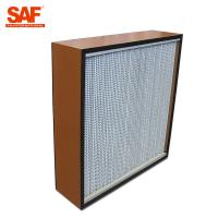 Quality Deap Pleated Cleanroom Hepa Filter With Paper Or Aluminum Foil Separater wholesale