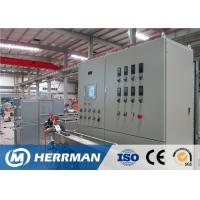 China Fiber Optic Sheathing Line For Simplex And Duplex Cable, FTTH Drop Cable Line on sale