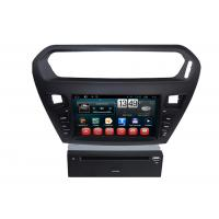 Quality Quad core PEUGEOT Navigation System With 8.0 Inch Touch Screen / Auto Rear Viewing wholesale