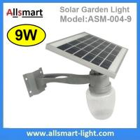 Buy cheap 9W Solar Parking Lot LED Light Solar Garden Light LED Street Light With Solar Panel Mount On Lamp Pole Post from wholesalers