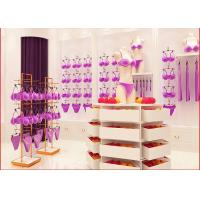 Quality Women Underwear Clothing Display Showcase For High End Clothing Specialized Store wholesale