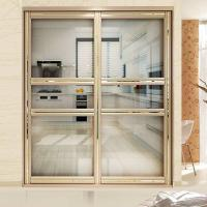 Quality Residential Aluminium Frame Glass Sliding Door Sound Insulation Powder Coating wholesale