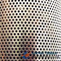 Quality 3.5mm Round Perforated Metal, 5.0mm Pitch, 0.4-1.5mm Thickness, 60° Staggered wholesale