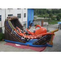 China Amusement Park Octopus Kids Inflatable Slides Rental With Durable EN71 PVC on sale