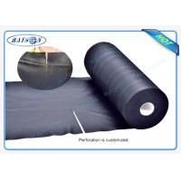 Quality Black Garden Weed Control Fabric For MaintainTemperature To Benefit Healthy Growth Weed Control wholesale