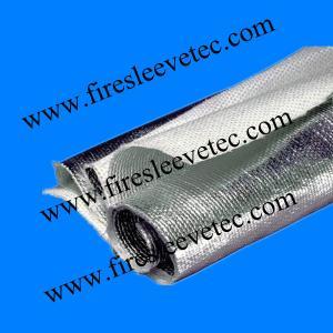 China Insulation aluminum foil coated fiberglass cloth on sale