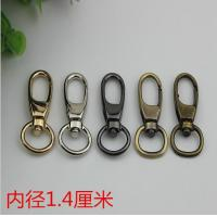 Quality SP080 Custom zinc alloy 5 color 14 mm swivel spring snap clip bag strap hook for bags wholesale