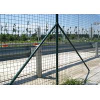 Quality Garden Green Holland Wire Mesh , PVC Coated Galvanized Wire Fencing Mesh wholesale