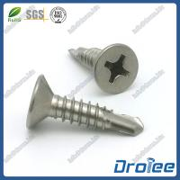 Buy cheap Stainless Steel 304 Philips Countersunk Head Self Drilling Screws product