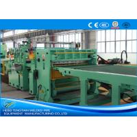 Quality Blue Colour Cut To Length Line 100m / Min Cutting Speed High Efficiency wholesale