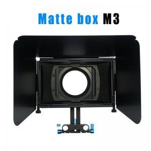 Quality Matte box for 15MM rail rod support follow focus 550D 60D 600D 5D2 dslr camera wholesale