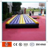 Quality Kids / Adult Inflatable Sports Games Indoor Inflatable Exercise Mat , Air Mats For Sports Games wholesale