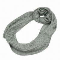 Quality Corn Knitted Scarf for Various Use, Made of Acrylic, Very Soft/Warm Neck Warmers, Fashionable Design wholesale