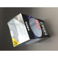 Plastic print folding up box clear plastic boxes custom size for packaging