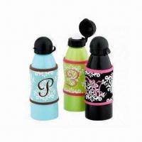 Quality Stainless steel water bottles with removable neoprene sleeve wholesale