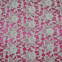 Quality Water-solubility Lace Fabric, Available in Various Designs, Made of 100% Cotton Material wholesale