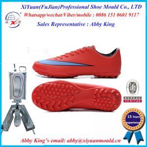 China men's fashion outdoor PVC soccer shoes moulds, PVC sport running shoes moulds, PVC sneaker on sale