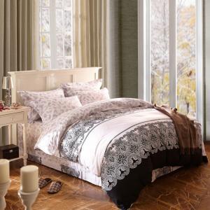 Quality Home Textile King Size Cotton Bedding Sets Beautiful Design Washable wholesale