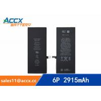 Quality ACCX brand new high quality li-polymer internal mobile phone battery for IPhone 6Puls with high capacity of 2915mAh 3.8V wholesale
