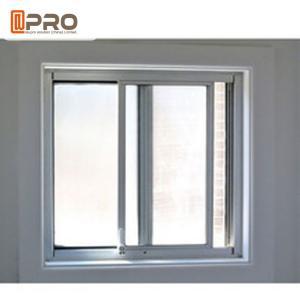 China Simple Modern House Aluminium Vertical Sliding Windows Balcony Curtain on sale