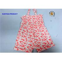 Quality Single Piece Tank Newborn Baby Bodysuits Butterfly Reactive All Over Printing wholesale