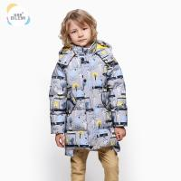 China Wholesale Korean Style Outerwear Boutique Insulated Winter Down Coat Best Heavy Half Jacket For Boys on sale