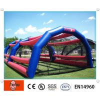 Quality Colorful Inflatable Batting Cages For Baseball Sports Games wholesale
