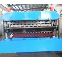Quality 18 Forming Stations Roof Panel Roll Forming Machine PLC For IBR / Corrugated Sheets wholesale