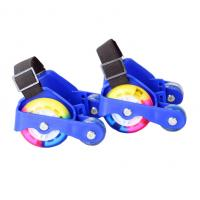 China led flashing wheel roller shoes / flash roller on sale