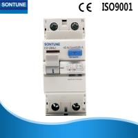 China AC Residual Current Current Limiting Circuit Breaker 2 Pole Plastic Texture on sale