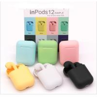 Buy cheap ABS Material Waterproof Tws Earbuds Inpods 12 Touch Control For Mobile Phone from wholesalers