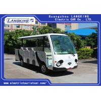Quality 14 Seater Electric Shuttle Car Equipped With Effective Shock Absorb With Door wholesale