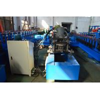 Quality Galvanized Steel Solar Strut Roll Former Machine PLC Touch Screen Control wholesale