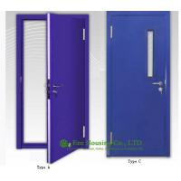 Quality Residential 60 minutes Steel Fire Retardant Door For Commercial Building wholesale