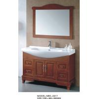 Quality Oak Wood Material Traditional Bathroom Vanities antique style 1200 * 480 * 850mm wholesale