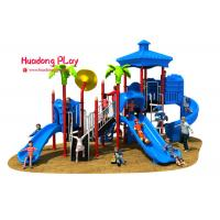 China Vivid Color Image Kids Plastic Slide , Shopping Mall Outdoor Play Slide 32m³ on sale