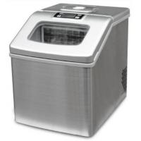 Quality 18Kg Stainless Steel Mini Automatic Ice Maker Machine , Potable Commercial Countertop Ice Maker wholesale