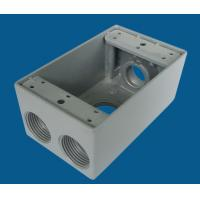 Quality Aluminum Waterproof Electrical Box Weatherproof Receptacle Box Grey Color wholesale
