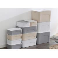 China different size pp plastic storage box with lid plastic box for household storage on sale