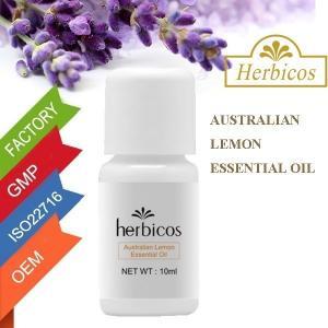 Quality Herbicos Australian Lemon Essential Oil For Skin Whitening 10ml wholesale