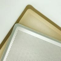 China Perforated Wire Mesh Baking Tray Food Grade Stainless Steel Made on sale