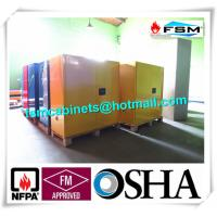 Venting Flammable Safety Cabinets , Chemical Storage Containers Double Doors