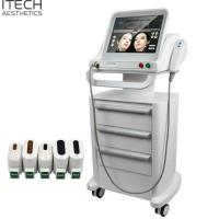 Quality 3D Hifu Facial And Body Lifting Machine 5 Cartridges For Beauty Salon / Spa wholesale