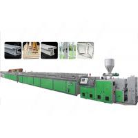 China Servo Motor Control Excluder Machine Making PVC Profiles For Windows And Doors on sale