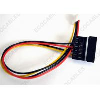 Quality Wire Harness Power Extension Cables Supply Sata For Computer 4P-15P wholesale