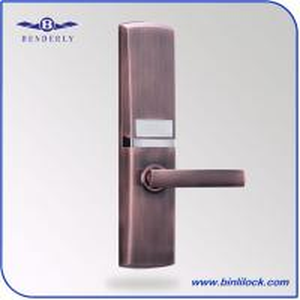 Quality CHINA Biometric Door Lock Factory -BENDERLY Fingerprint Password Card Key Lock wholesale