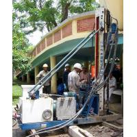 Cheap Skid Mounted Portable Drilling Rigs , Jet Grouting Drilling Rig for sale