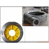 Quality Anti Abrasion Electric Slurry Pump Spare Parts High Chrome Alloy / Rubber Material wholesale