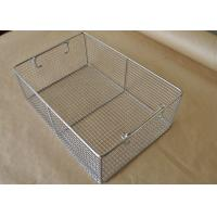 Quality 45*25*7cm Stainless Steel Sterilizing Basket Disinfection Baskets  For Scalpel wholesale