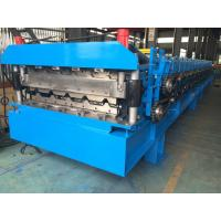 Roofing Profile Double Layer Roll Forming Machine Automatically 380V 50Hz 3 Phases